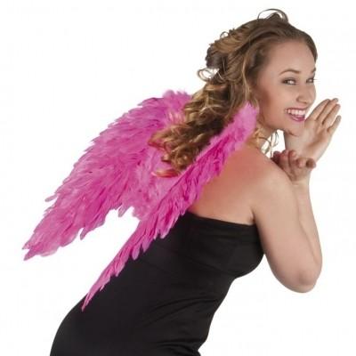 Foto van Engelen vleugels knalroze