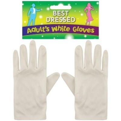 Foto van Witte Handschoenen Volwassenen