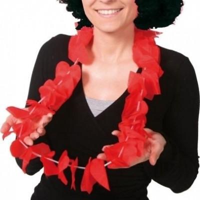 Foto van Hawai Krans Hartvorm, rood