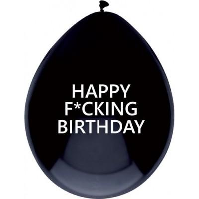 Foto van Ballonnen Happy Fucking Birthday