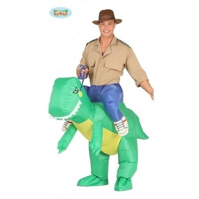 Foto van Carry me Dinosaurus opblaasbaar