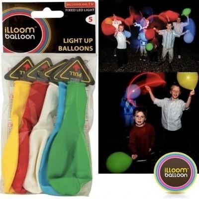 Foto van Illoom balloons assorti kleuren 5stuks