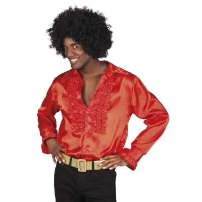 Disco blouse rood