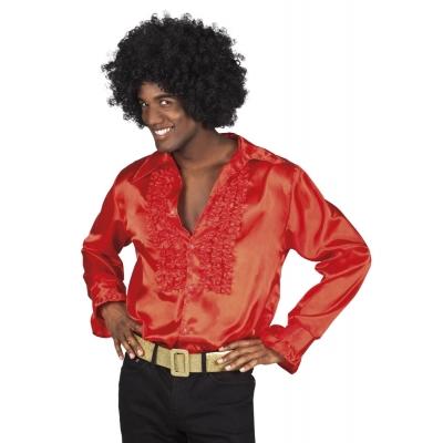 Foto van Disco blouse rood