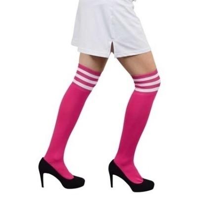 Foto van Cheerleader sokken roze wit