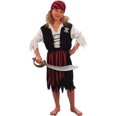 Foto van Piratenkostuum meisje