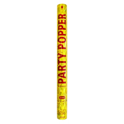 Party popper goud 57cm