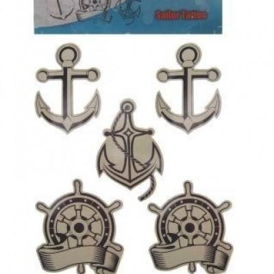 Foto van Tattoo sticker sailer 3 assortie