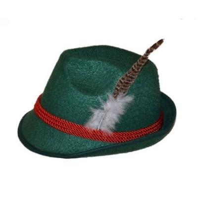 Foto van Tiroler hoed groen