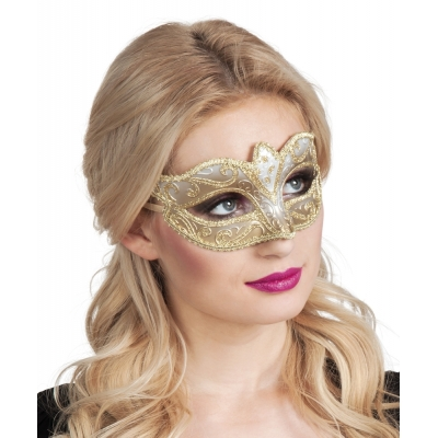 Eye mask Venice felina goud