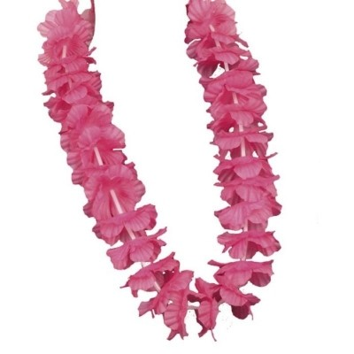 Foto van Hawaiikrans Ohana roze