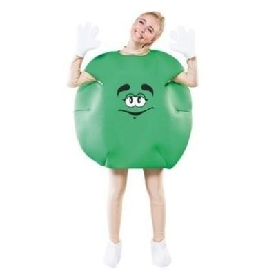 Foto van M&M pak groen volwassen maat