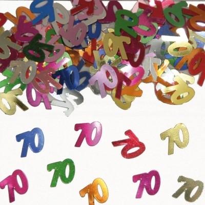 Foto van Tafeldecoratie/sier-confetti 70 /st
