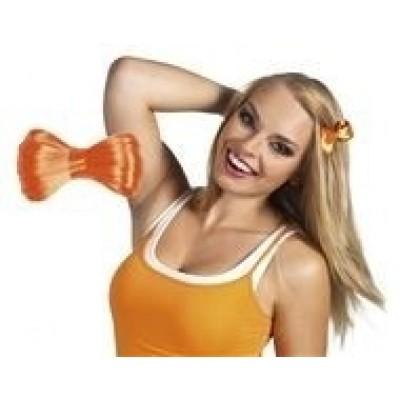 Foto van Strikje oranje haar