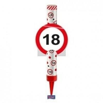 IJsfontein verkeersbord 18