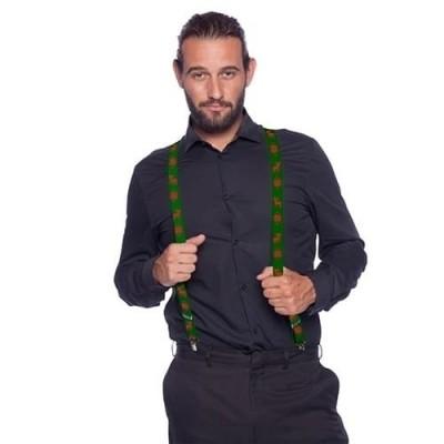 Foto van Groene kerst bretels