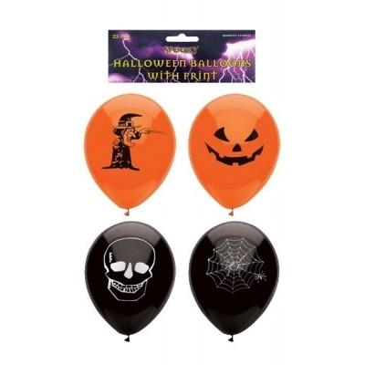Halloween ballonnen 15 stuks