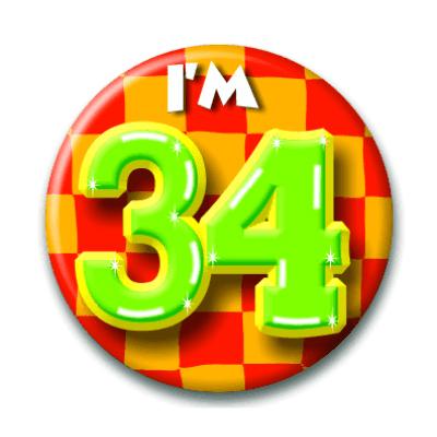 Foto van Button 34 jaar