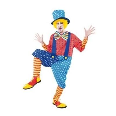 Foto van Blauwe clown volwassen maat