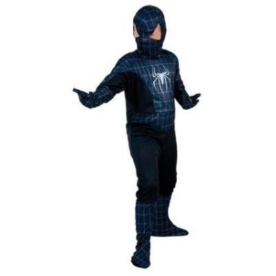 Spiderman zwart kind