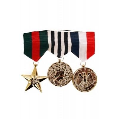 Foto van Medaille leger 3 stuks