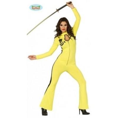 Foto van Kill bill kostuum