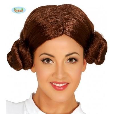 Foto van Pruik Prinses Leia Star Wars bruin