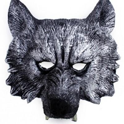 Foto van halfmasker wolf foam