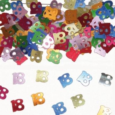 Foto van Tafeldecoratie/sier-confetti 18 /st
