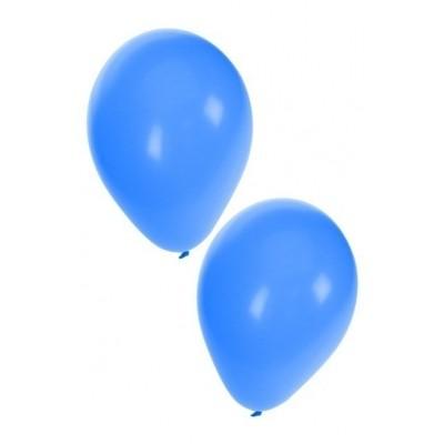 ballonnen blauw 50stuks