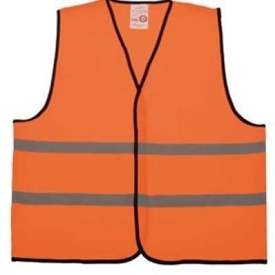 Wegwerker hesje oranje ''new kids''