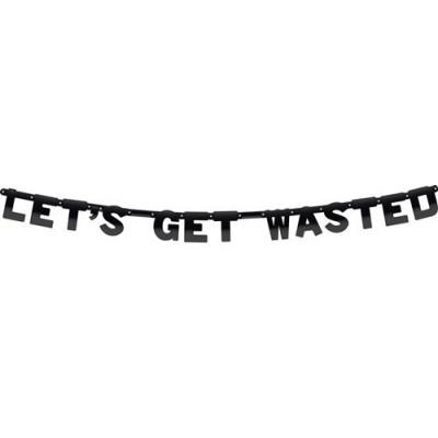 Foto van Lettervlag Let´s Get Wasted