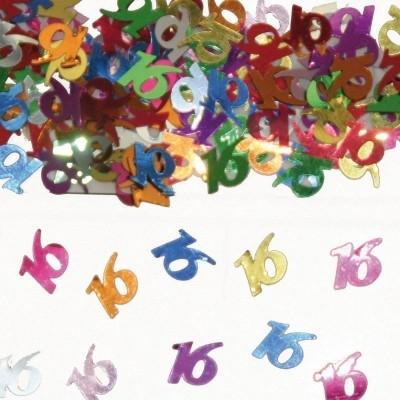 Foto van Tafeldecoratie/sier-confetti 16 /st