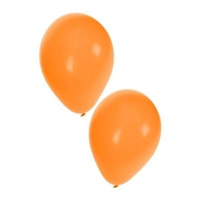 Foto van Ballonnen oranje 50 stuks 10inch