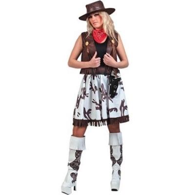 Foto van Cowgirl kostuum Texas