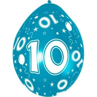 Ballonnen 5 stuks 10 jaar