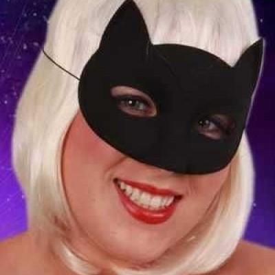 Foto van Oogmasker kat zwart