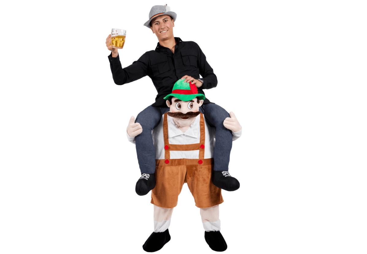 Carry Me Kostuum Tiroler Man