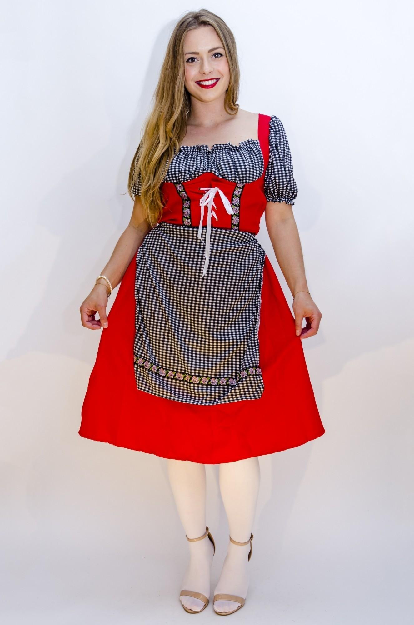dacc63ea5abf49 Tiroler jurk Karin - Confettifeest.nl
