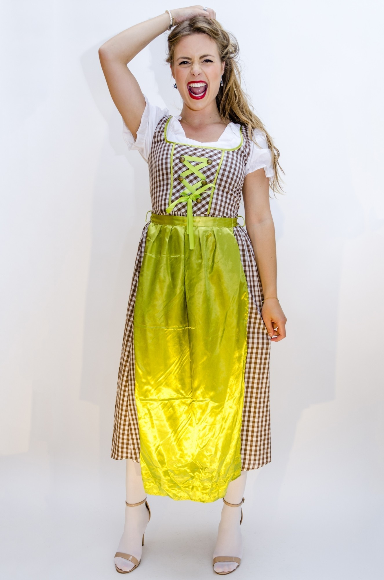 e591670b9e6b1b ... Afbeelding van Dirndl jurk lang - Wendy ...