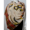 Afbeelding van Oilily sjaal wol beige oker Frieze