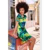 Afbeelding van Smashed Lemon jurk viscose geel 20297