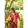 Afbeelding van Dunque vest eco katoen rose rood