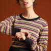 Afbeelding van King Louie sweater top meerkeurig Bazaar