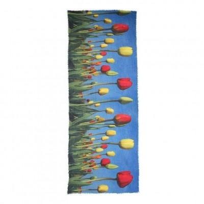 Foto van Otracosa sjaal wol tulpen