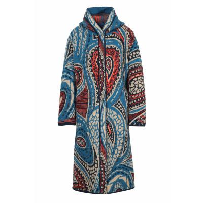 Foto van IVKO vest jas beige blau rood 202604
