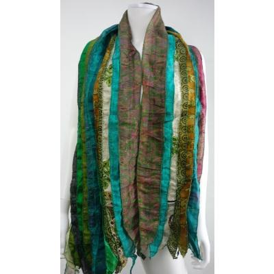 Foto van Otracosa sjaal zijden stroken N10