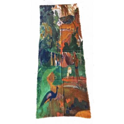 Foto van Otracosa sjaal wol 70 x 180 cm Gauguin 2160