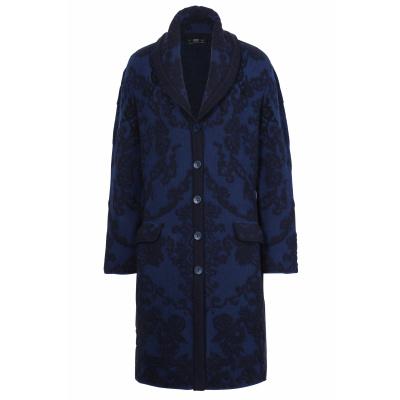 Foto van IVKO vest jas blauw zwart 202402