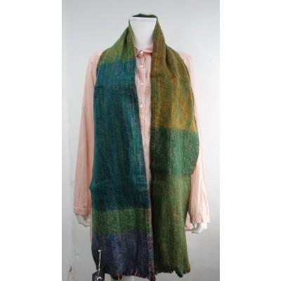 Foto van Inti sjaal wol handgeweven multi 1807h